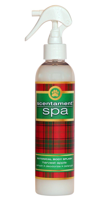 Best Shot Pet Scentament Spa Harvest Apple Holiday Body Splash Spray, 8 oz