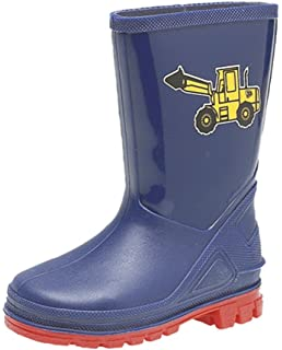 Dinosaur Hunters Sharkie Boys Wellies Blue UK Size
