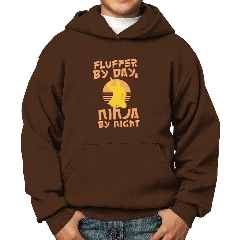 Amazon.com: Teeburon Fluffer by day, ninja by night Boy ...