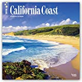 California Coast 2018 12 x 12 Inch Monthly Square Wall Calendar, USA United States of America Pacific West State Nature