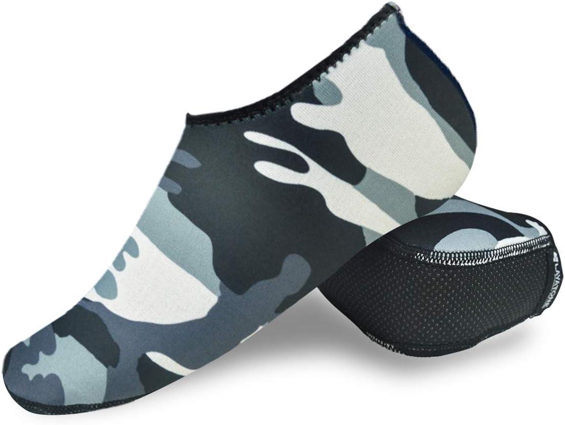 Tioeqioan Chaussettes de plong/ée Chaussettes de Plage Bottes 3mm Chaussures deau en n/éopr/ène Chaussettes de Plage Chaussette