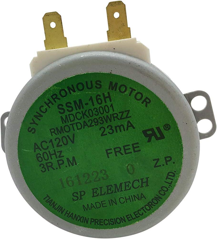 『Enterpark』 Premium Quality Cost Effective Factory Replacement Teil Rmotda293Wrzz von Turntable Motor für Microwave