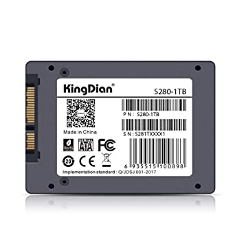 DishyKooker KingDian SSD SATA3 Disco Duro de 2.5 Pulgadas HD HDD ...