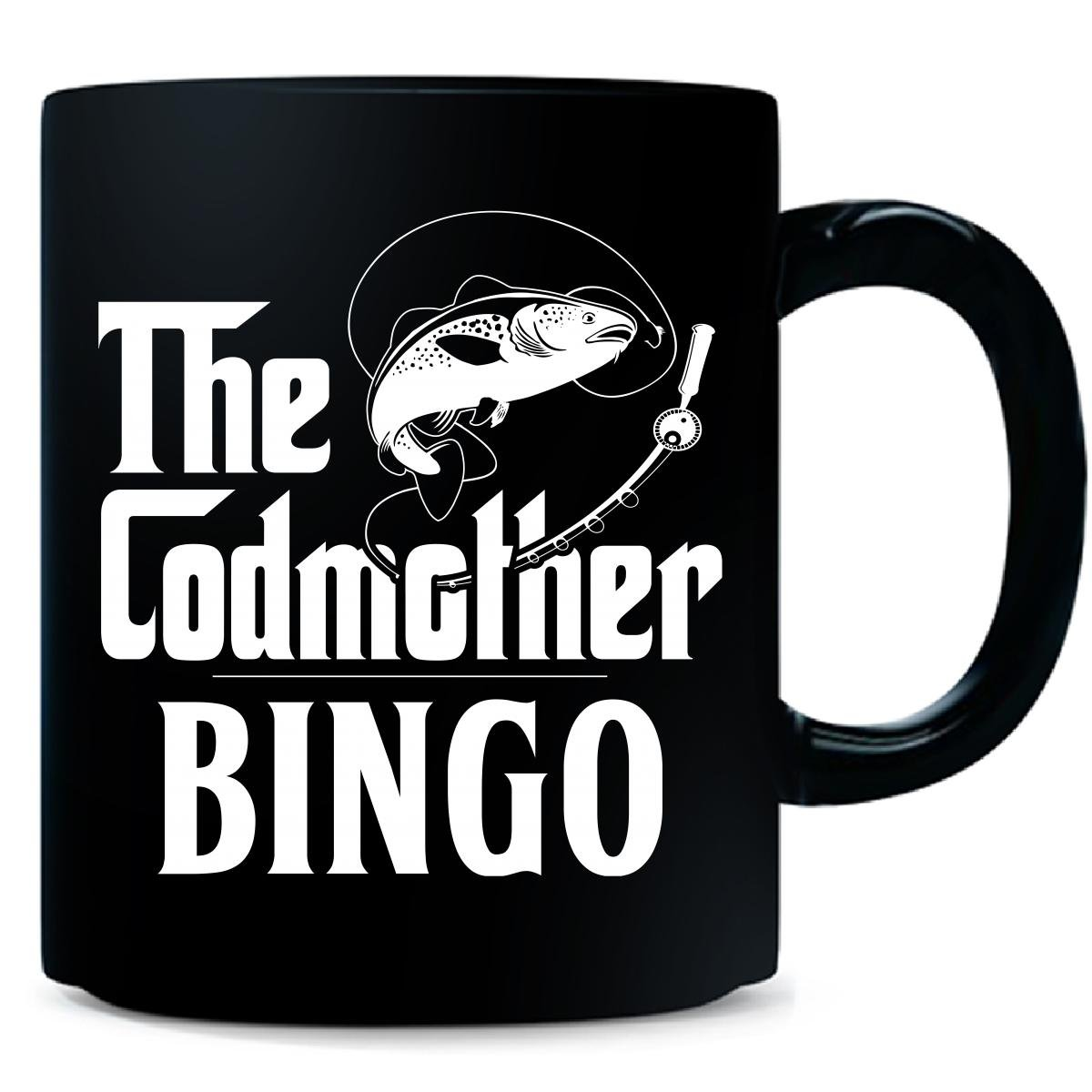 The Codmother Bingo Custom Name Fishing Mothers Day - Mug by My Family Tee