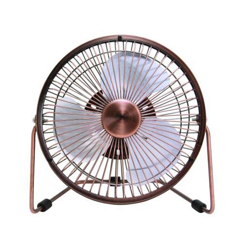 Comfort Zone 2 Speed USB Powered Fan, 6 Inch