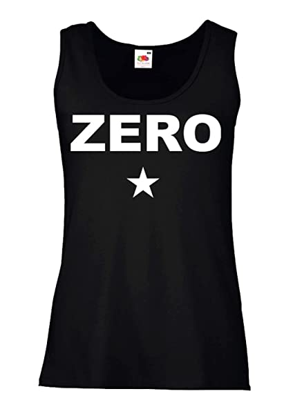LaMAGLIERIA Camiseta de Tirantes Mujer The Smashing Pumpkins - Zero - 100% Algodòn, S