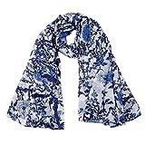 EcoWonder 100% Silk Scarf For Women Fashion Sunscreen Shawls Lightweight Scarfs Hair Sleeping Wraps for Women Wonderful Gift