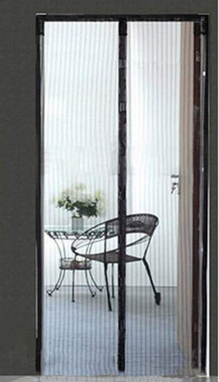 Cortina anti mosquitos, puerta de pantalla magnética, puerta de pantalla blanda, mosquitera / insecto / mosca / guardapolvo puerta corredera de vidrio Puerta de la puerta francesa, sin manos, admite m: Amazon.es: