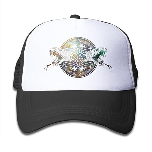 Amazon.com  SDRG5 Snake Double Child Baby Kid Mesh Caps Adjustable Trucker  Hats Summer Baseball Caps  Clothing 7237c5893e0