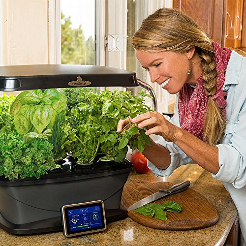 61J 2ldMsiL - AeroGarden Bounty with Gourmet Herb Seed Pod Kit