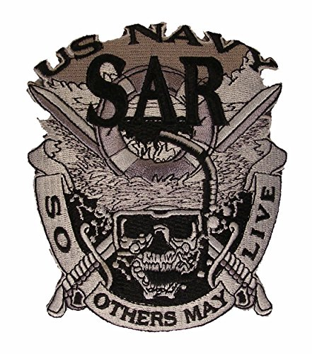 U S NAVY SAR Search & Rescue So Others May Live Military Patch - Veteran Owned Business -