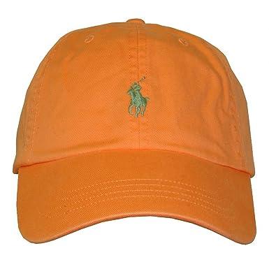 Ralph Lauren - Gorra de béisbol - para Hombre Naranja Naranja Taille Unique: Amazon.es: Ropa y accesorios
