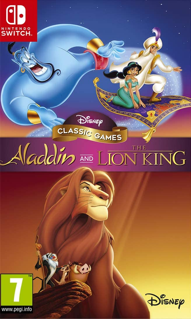 Disney Classic Games : Aladdin and The Lion King - Switch | nighthawk interactive. Programmeur