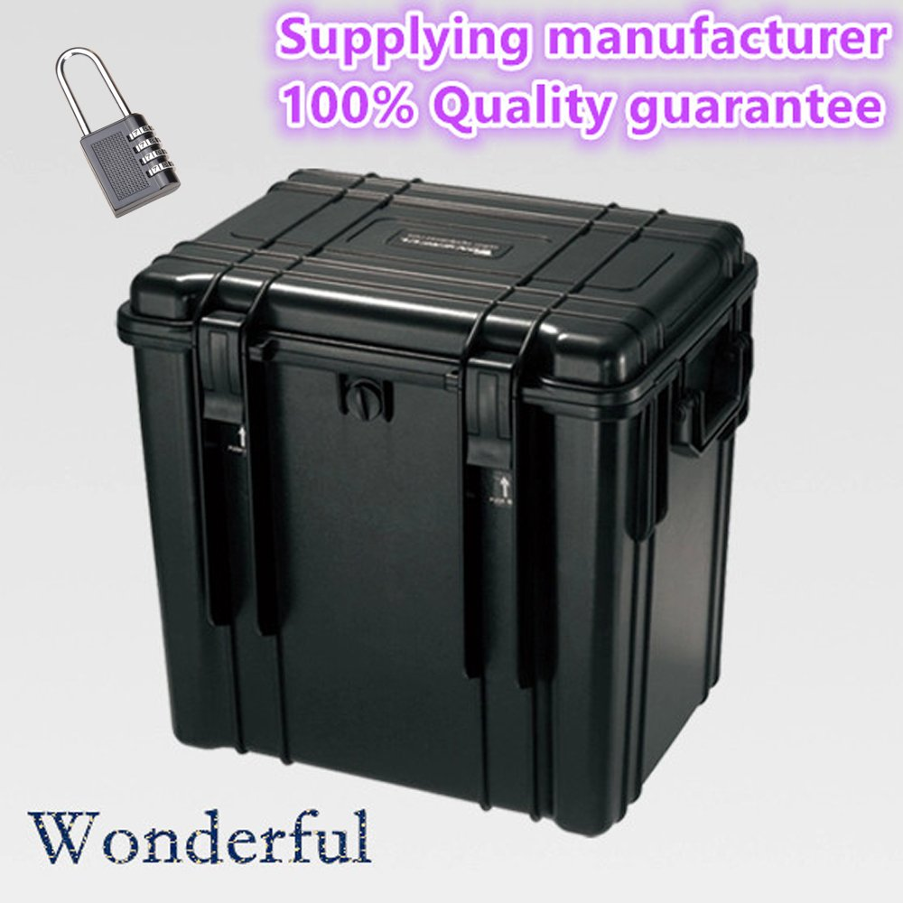 Wonderful pc-4643 WatertightケースABS素材、密封防水、防塵to keep your製品Dry and、カスタマイズ可能、取り外し可能Pick N Pluck Foam (ブラック)   B01ELKZ4C8