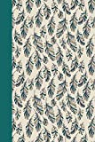 Journal: Feathers (Green) 6x9 - LINED JOURNAL - Journal with lined pages - (Diary, Notebook) (Birds & Buttterflies Lined J...