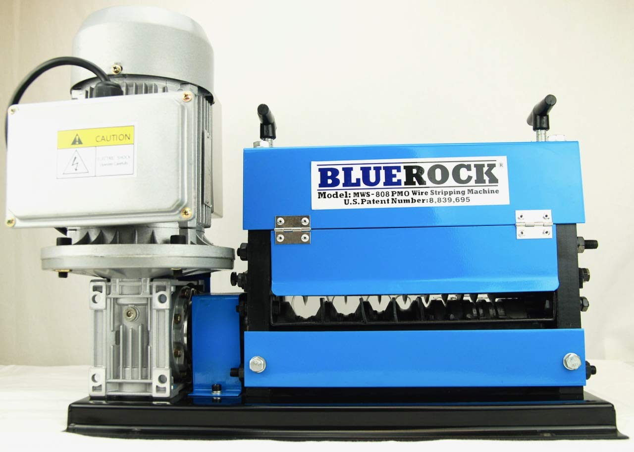 BLUEROCK Tools Model MWS-808PMO Wire Stripping Machine Copper Cable Stripper by BLUEROCK (Image #4)