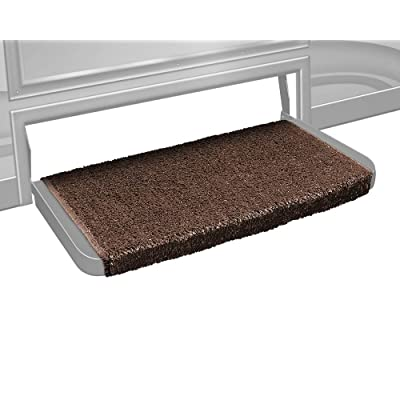 Prest-O-Fit 2-1070 Wraparound + Plus RV Step Rug Espresso Brown 20 Inch Wide: Automotive