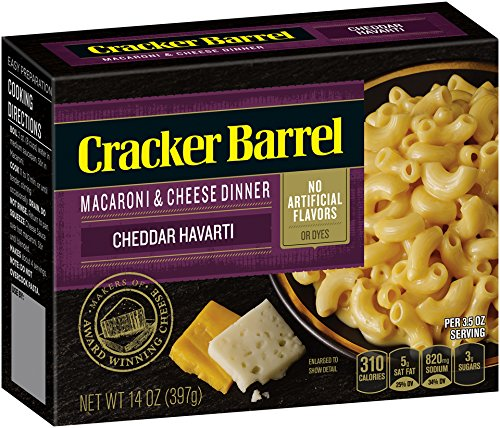 Cracker Barrel Macaroni and Cheese, Sharp Cheddar Havarti, for sale  Delivered anywhere in USA
