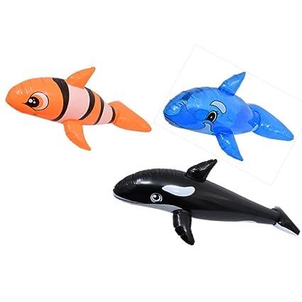 Amazon.com: Inflable splash-n-swim juguete piscina splash de ...