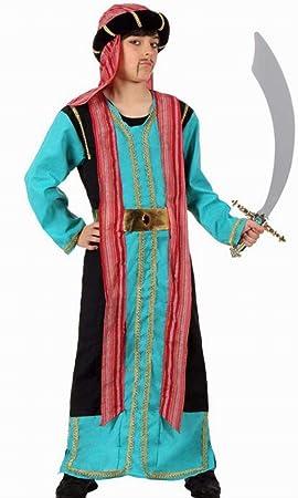 Disfraz de jeque árabe para niño - 7-9 años: Amazon.es: Juguetes y ...