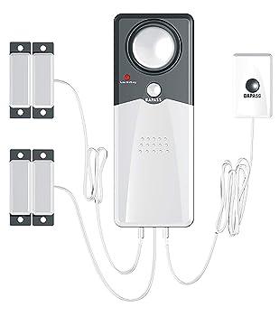 Techko S189 Ultra Slim Safe Pool Alarm