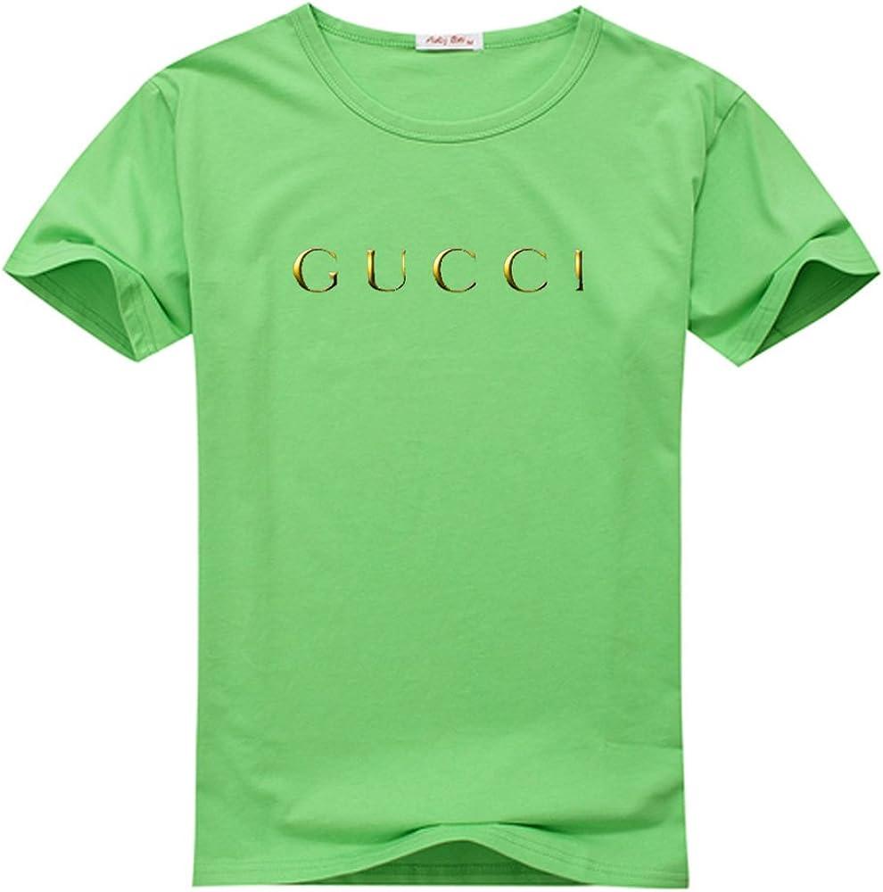 Gucci Logo para hombre impreso camiseta de Polo camiseta de manga ...