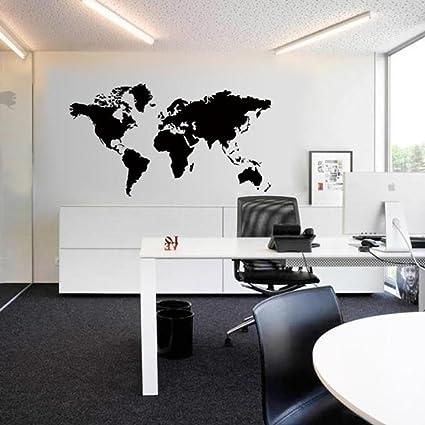 Wall Sticker Ddlbiz Viaggiare In Tutto Il Mondo Mappa Del Mondo
