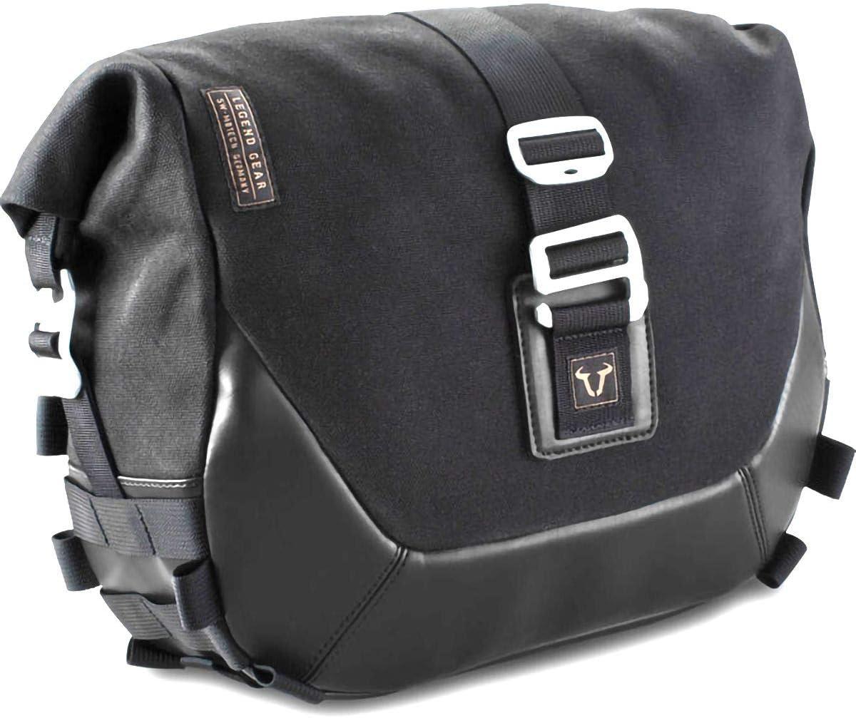 SW-Motech Legend Gear LC1 Black Edition Saddlebags Black//Black