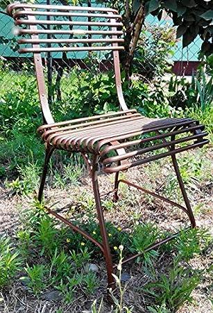 Casa Padrino Chaise de jardin en fer forgé - Assortiment de ...