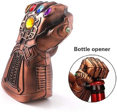 Personality Marvel Avengers Thor Hammer Beer Bottle Opener Bar Decorations Gold