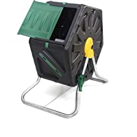 Miracle-Gro Small Composter - Compact Single Chamber Outdoor Garden Compost Bin