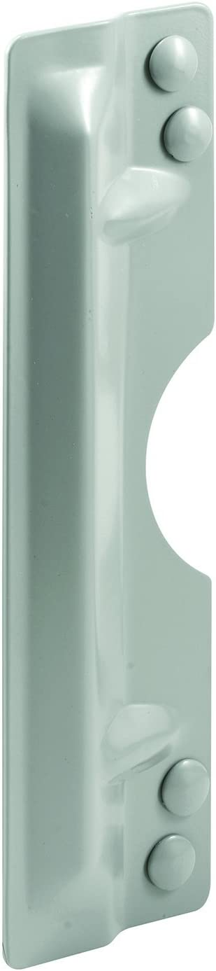 Pack of 1 Prime-Line MP4585 Out swinging Door Latch Protector Gray