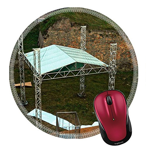 Liili Round Mouse Pad Natural Rubber Mousepad Setting up one of the stages for EXIT music festival Photo 388570 (Disco Setup Ideas)
