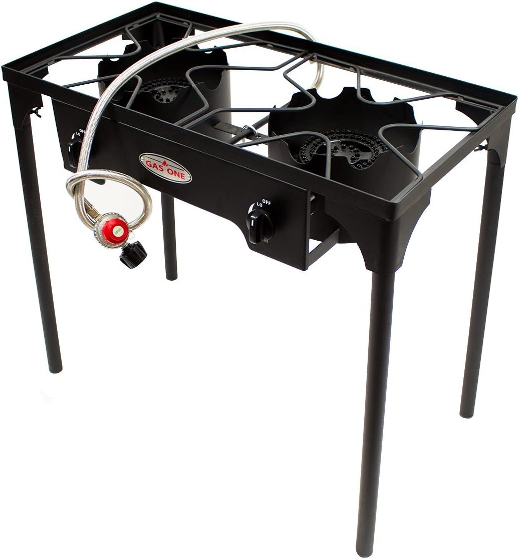 Gas One Two Burner Propane Stove Outdoor High Pressure Propane 2 Burner