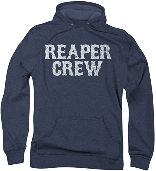 8af765af981 Sons Of Anarchy - Mens Reaper Crew Hoodie  Amazon.co.uk  Clothing
