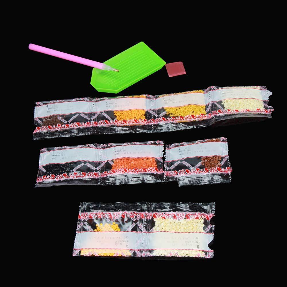 Pintura Diamante de BaZhaHei, Taladro de punta de pintura diamante 5D diamond stick diamond stick de 5D Bordado Pinturas Rhinestone Pegado DIY Pintura ...