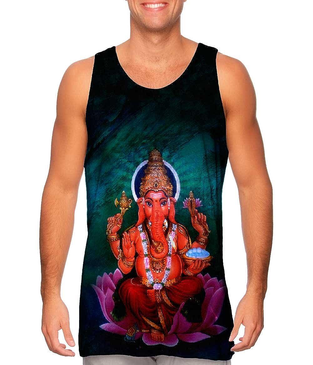 -Tshirt- Mens Tank Top Yizzam- Adityamadhav83 Ganesh in Space 2013