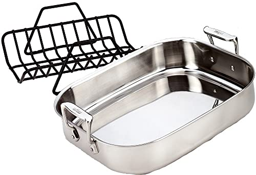 All-Clad E752S264 Stainless Steel Roasting Pan