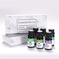 Beautye Aromatherapy Essential Oils includes Lavender, Eucalyptus, Lemongrass, Tea Tree, Rose and Peppermint, Water…