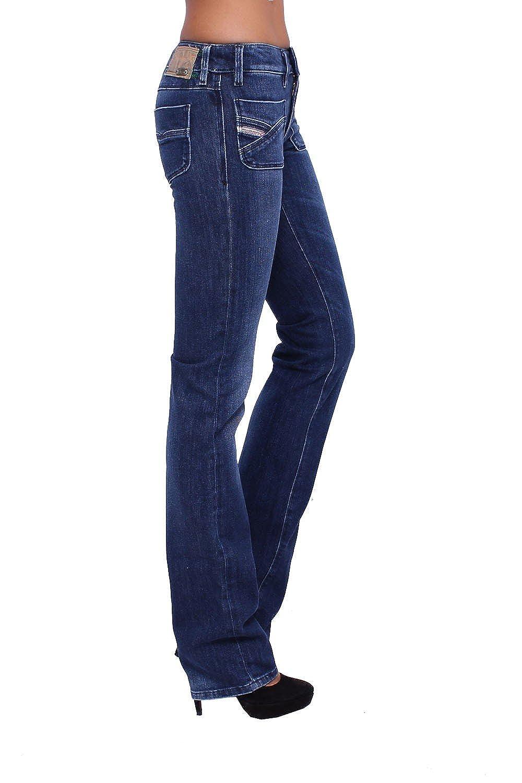 DIESEL - Women's Jeans WENGA 8RT - Regular Slim - Straight - Non Stretch