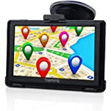 YoJetSing Sat Nav GPS Navigation System, 5 inch 8GB 256MB Car Truck Lorry Capacitive Touch Screen Satellite Navigator Device Pre-loaded UK/EU 2018 Newest Maps with Lifetime Free Updates