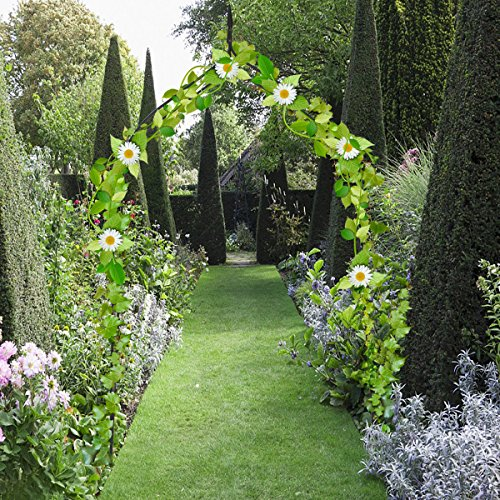 Allblessings Wide Steel Arch 8'4 High x 4'7 Rose Arbor Climbing Plant Outdoor Garden For Decor Support by Allblessings (Image #3)