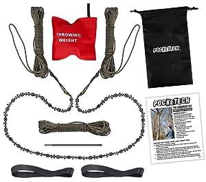 The Arborist Kit by PockeTech High Limb Hand Chain Saw