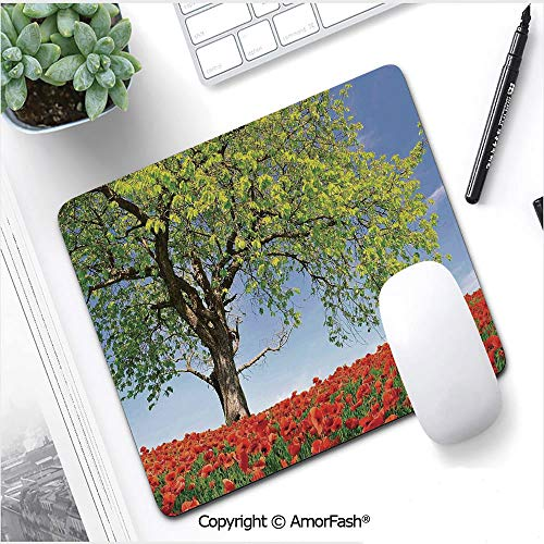 nting Mouse Pad for Office and Home,Non-Slip Rubber,8.3