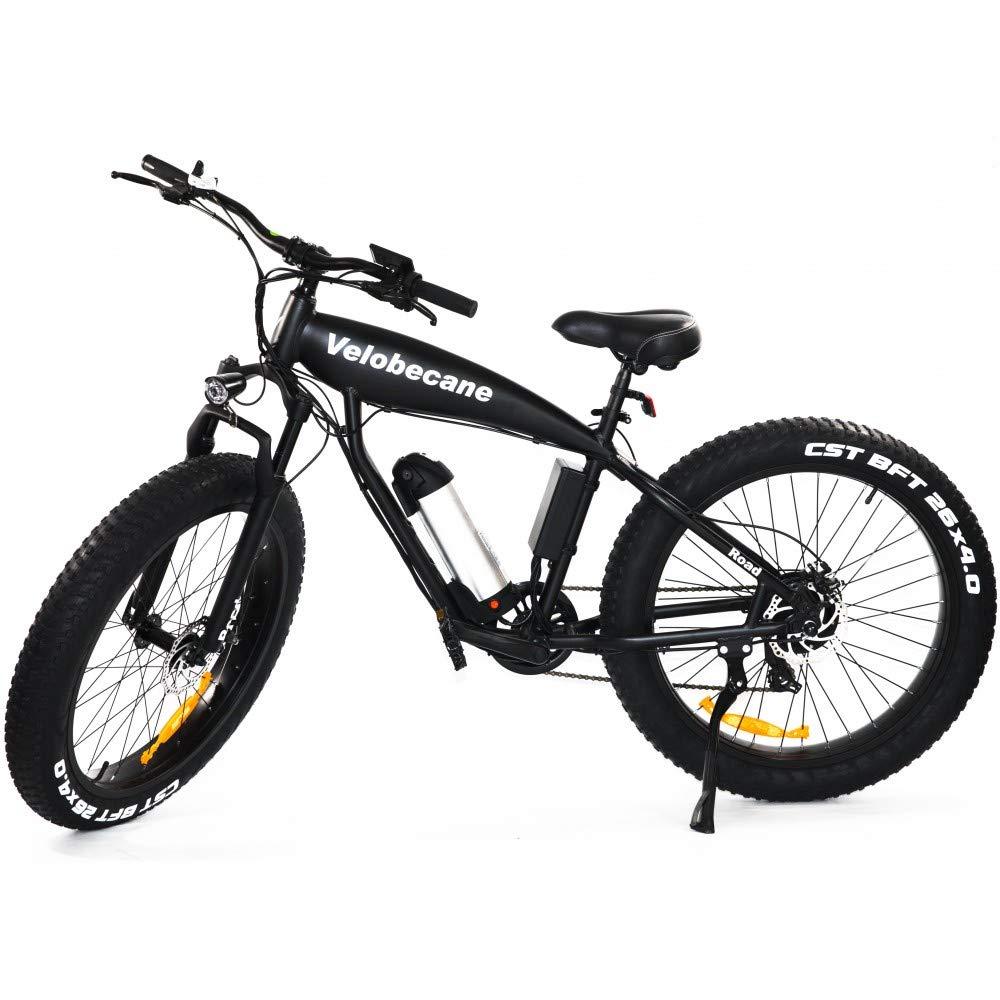 Velobecane bicicleta eléctrica Road negro: Amazon.es: Deportes y aire libre