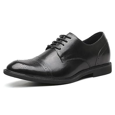 926f7618e5cec CHAMARIPA(JP) 底上げ靴 シークレットシューズメンズ革靴本革シークレットシューズ 7cm UP