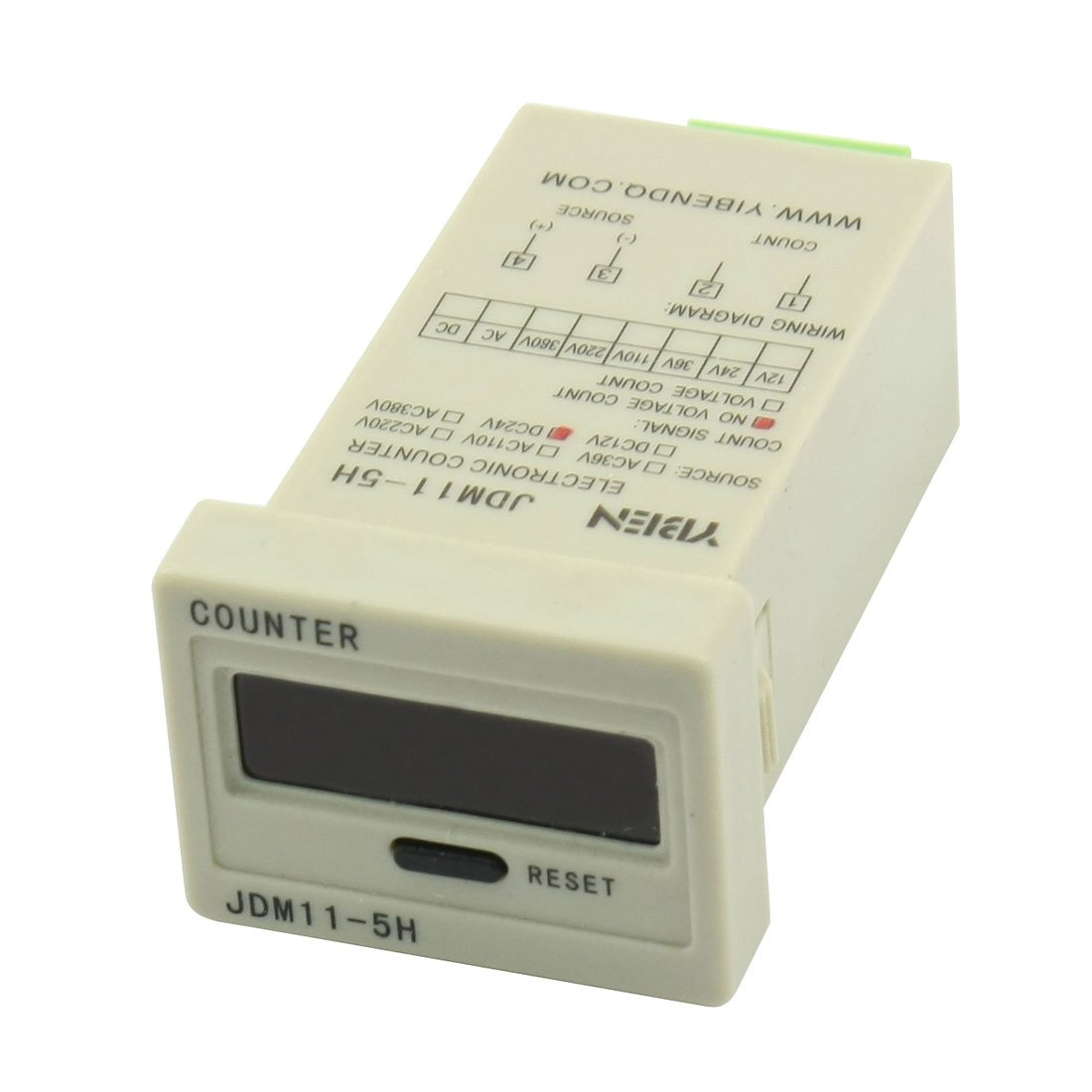 Dc 24v 0 99999 5 Digit Pressing Reset Accumulating Counter How To Decipher The Wiring Schematic Of A 110220v