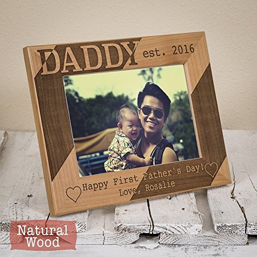 First Fathers Day Frame - First Fathers Day Gifts - Personalized Frame