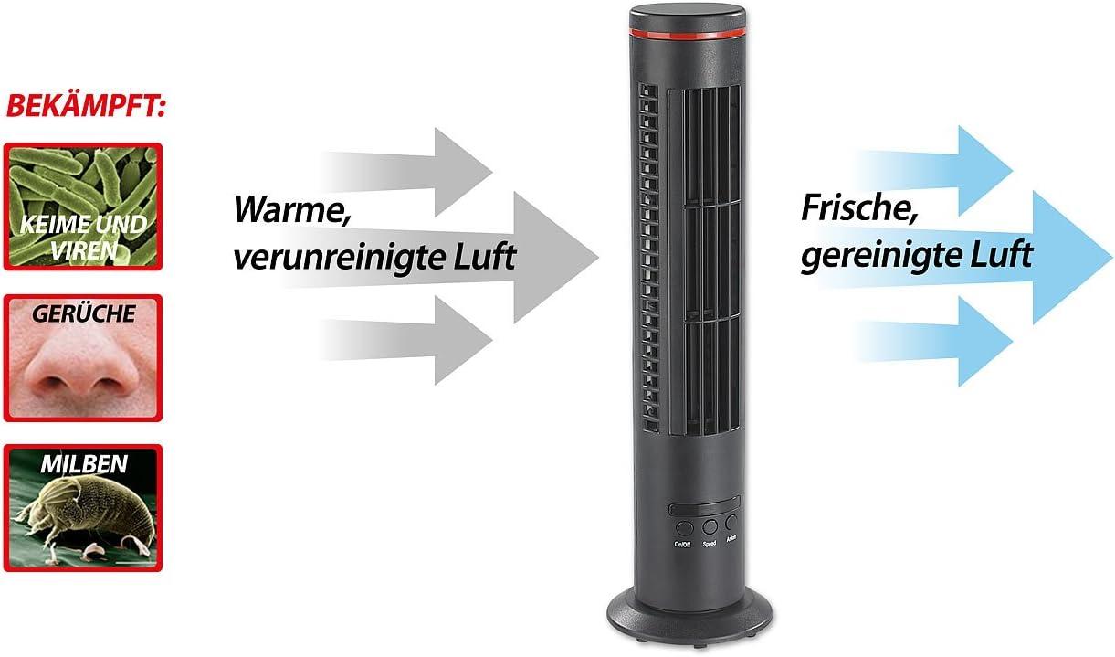 Newgen Medicals VT194.T – Mini ventilador de mesa USB, mini torre ...