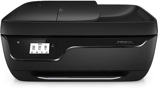 Impresora Inalámbrica Fotográfica A Color Con Escáner Y Copiadora Con Cartucho De Tinta Instantánea Hp Officejet 3830 Negro Office Products